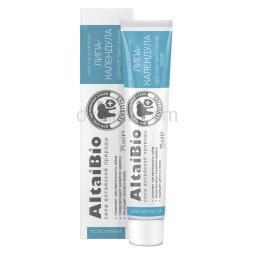 AltaiBio Зубная паста для чувствительных зубов Липа-Календула, 100 г