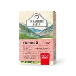 Чайный напиток Травяной чай Горный (Алтэя), 50 г