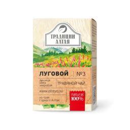 Чайный напиток Травяной чай Луговой (Алтэя), 50 г