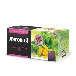 Чайный напиток Травяной чай Луговой (Алтэя), 25 фильтр-пакетов по1,2 г