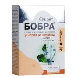 Капсулы «Секрет бобра» с белым мумиё. Быстрое заживление  №30*0,5 г Блистер