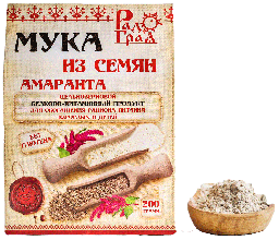 Мука амарантовая цельнозерновая (200 г.)