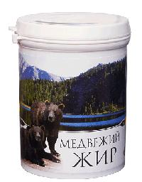Жир медвежий пищевой топленый, 200 мл