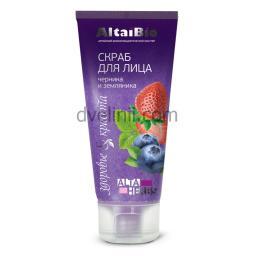 AltaiBio скраб для лица