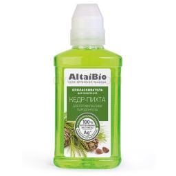 AltaiBio Ополаскиватель для полости рта. профилактика парадонтоза Кедр-Пихта, 200 мл