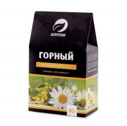 Чайный напиток Травяной чай Горный (Алтэя), 80 г