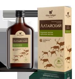 Алтайский с боровой маткой и красной щеткой бальзам 0,250 пл
