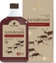 Алтайский с красным корнем и пантогематогеном бальзам 0,250 пл