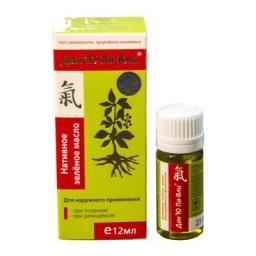 Нативное зелёное масло Дан'Ю Па-Вли для наружного применения 12 мл пэт