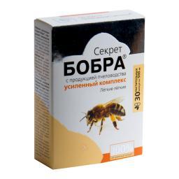 Капсулы «Секрет бобра» с продукцией пчеловодства. Легкие легкие  №30*0,5 г Блистер