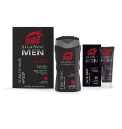 Силапант MEN Подарочный набор (бальзам после бритья + гель-тонус)