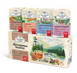 Подарочный набор травяных чаев
