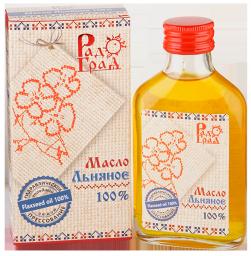 Масло льняное (100 мл)