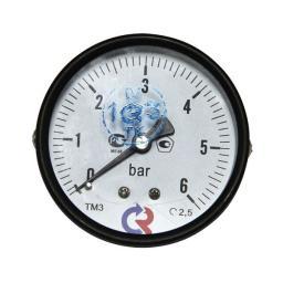 Манометр аксиальный 6 бар d=63мм G1/4
