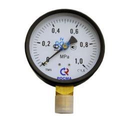 Манометр радиальный 10 бар d=100мм G1/2