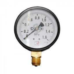 Манометр радиальный 16 бар d=100мм G1/2