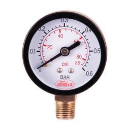 Манометр радиальный 6 бар d=50мм G1/4