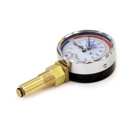 Термоманометр радиальный 0-120°С D=80мм LП/Ч=46мм 6 Бар G1/2