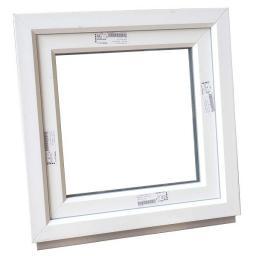 Окно одностворчатое ПВХ 600х600 мм белое