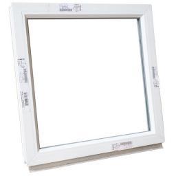 Окно глухое ПВХ 600х600 мм белое