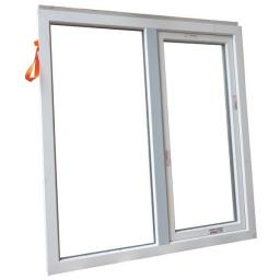 Окно двухстворчатое ПВХ 1300х1380 мм белое