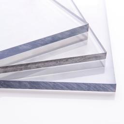 Монолитный поликарбонат 1 мм прозрачный 1250х2050 мм