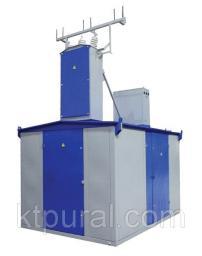 Подстанция КТПН-Т-В/В 400/10/0,4 с РВЗ или ВНА тупиковая