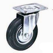 Колесо поворотное к тележке D=200