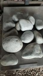 Камень в каменку Жадеит Крупный Галтованный