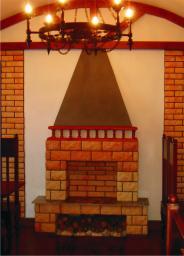 Жаростойкая керамическая плитка Рваный камень Макси угловая