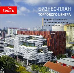 Разработка бизнес-плана строительства торгово-развлекательного центра