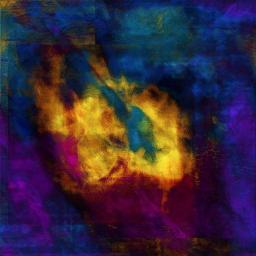 Без названия. 2014 Многослойный цветной принт на дубовых панелях с покрытием.