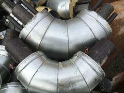 Отвод стальной 57 мм +в ппу изоляции