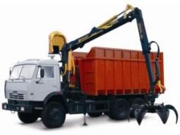 Вывоз металлолома КАМАЗ-ломовоз