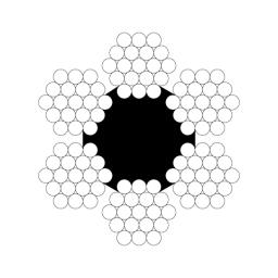 Канат грузолюдской лифтовой ГОСТ 3077-80 д.17,5