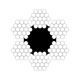 Канат стальной ГОСТ 2688-80 д.24,0 мм
