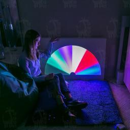 Интерактивная светозвуковая панель «Веер»