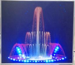Интерактивная светозвуковая панель «Фонтан»