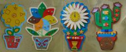 Набор бизибордов «Цветы»