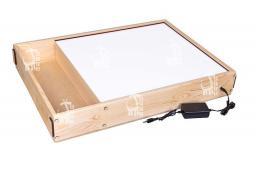 Планшет для рисования песком с белой подсветкой 50*40см