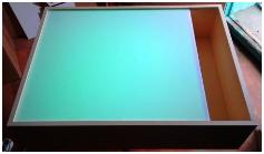 Планшет для рисования песком с RGB подсветкой 50*40см