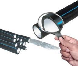 ПНД трубы Д=140 мм водопроводные