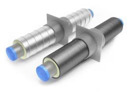 Неподвижная опора для труб ППУ Д=76 мм