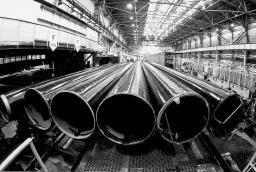 Стальные трубы в изоляции ВУС Д=1220 мм