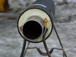 Труба ст Д=820 мм ППУ Пэ