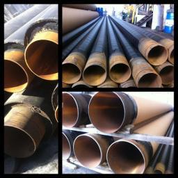 Стальные трубы в изоляции ВУС Д=108 мм ГОСТ 9.602-2005