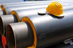 Стальные трубы в ППУ изоляции Д=426 мм