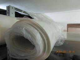Пластина силиконовая рулонная, ширина 1200 мм, толщина 1,5 мм