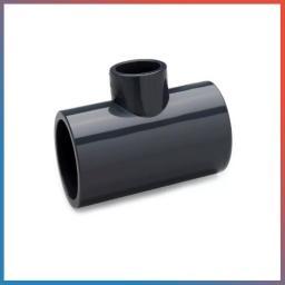 Тройник ПВХ 45° рыжый для наруж. канализации, Dn 250Х110