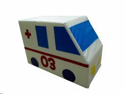 Контурная мягкая игрушка фургон «Скорая помощь»
